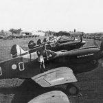 P-40 Kittyhawks at 6AD Oakey