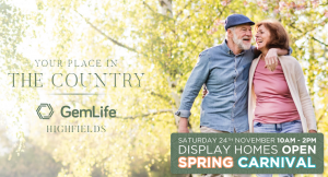 Your place in the country | GemLife Highfields