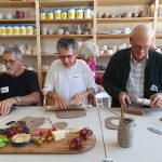 Michel, Allan & Sheryl - Clay & Graze Pottery Class Maroochy Quays