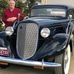 1935 Lincoln Model K Lebaron coupe 3