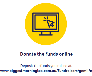 Donate the funds online