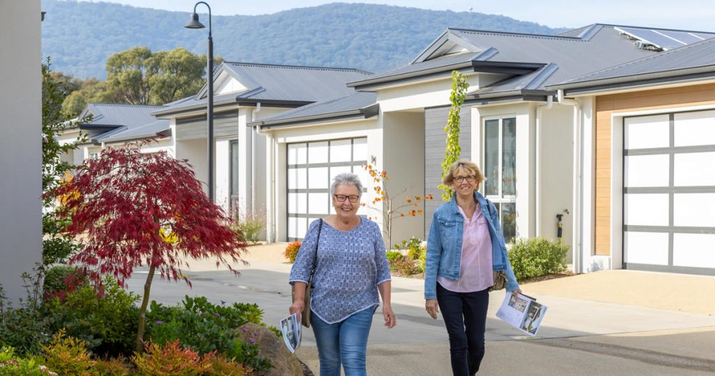 Thinking about downsizing - Townhouse versus over-50s resort living