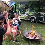 Behind the scenes at Explore - Explore Shooting fire Outdoors 2